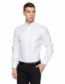 Arrow Solid Regular Fit Formal Shirt