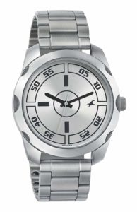 Fastrack Casual Analog Silver Dial Men's