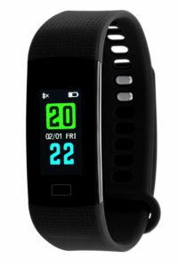 TIMEWEAR Fitness Tracker Smart Black