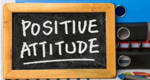 Why does a positive attitude in the workplace matter the most